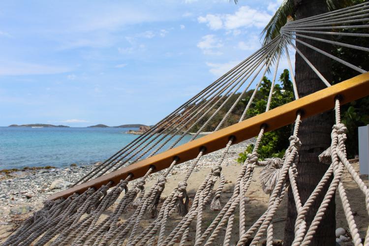hammock on St. John, USVI