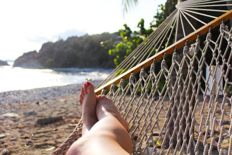 hammock life St. John, USVI