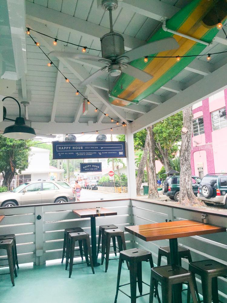 The Longboard restaurant St. John, USVI