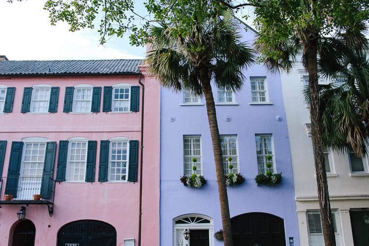 Rainbow Row Charleston, South Carolina