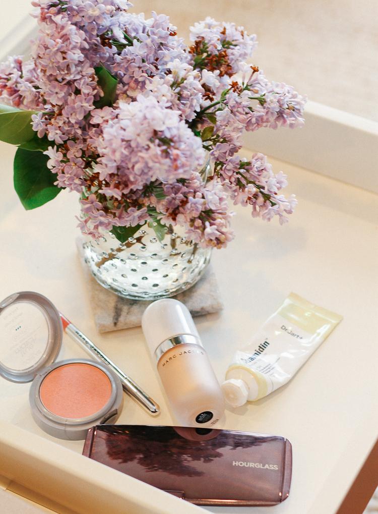 spring makeup bag
