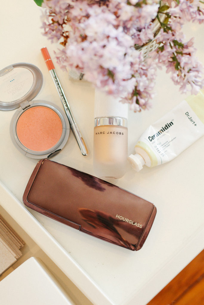 spring makeup and beauty routine