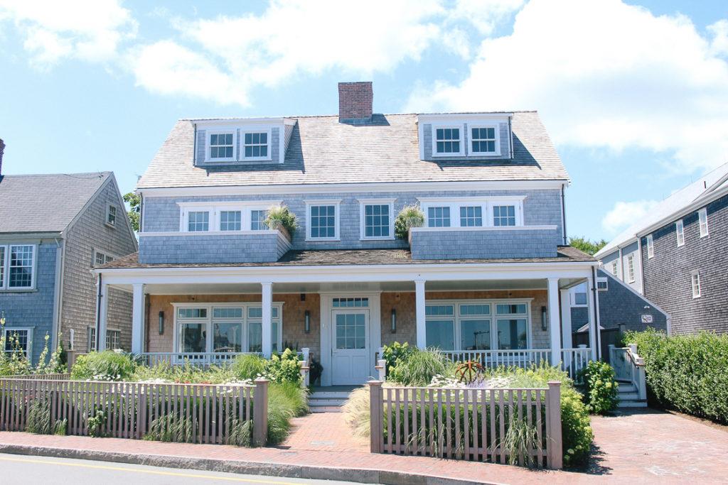 beach houses of Nantucket