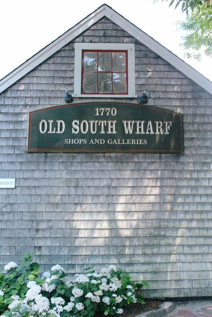 Old South Wharf Nantucket