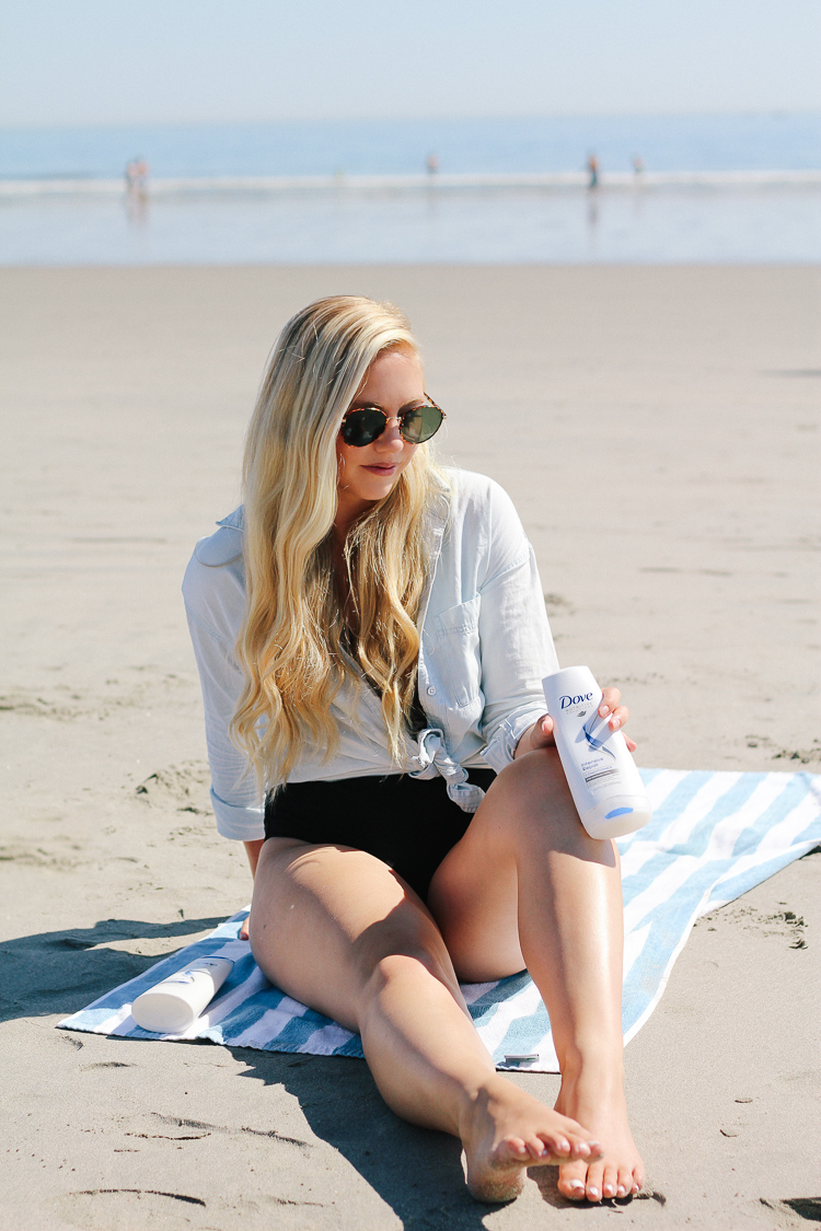 How to Protect Your Hair From Sun, Salt, & Chlorine This Summer