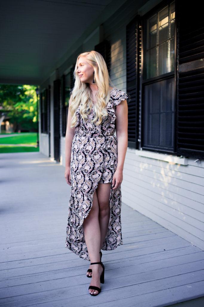 romper wrap dress for summer