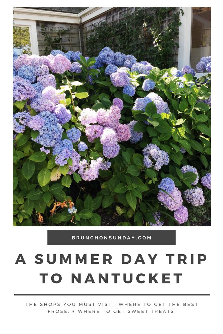 Summer day trip Nantucket
