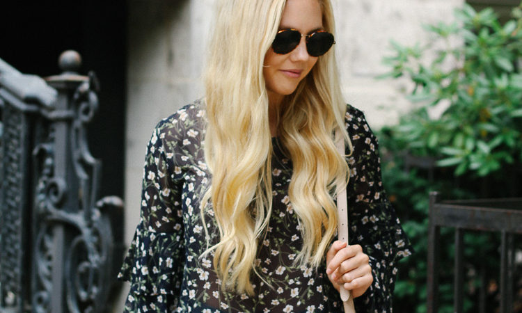tips on wearing floral prints