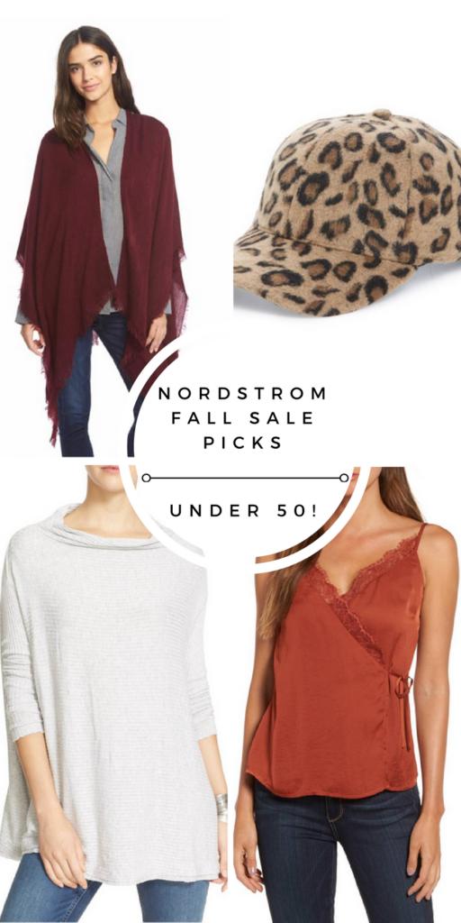nordstrom fall sale picks under $50