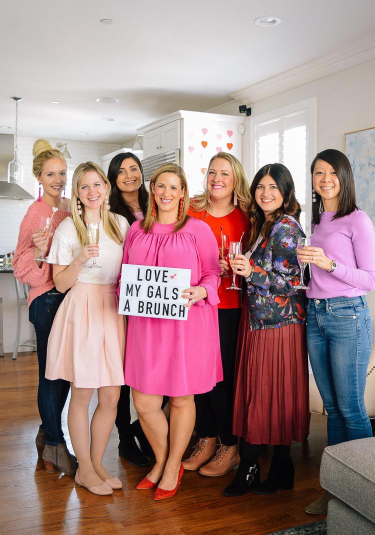 Boston blogger Galentine's Day brunch